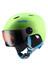 UVEX Junior visor pro skihelm groen